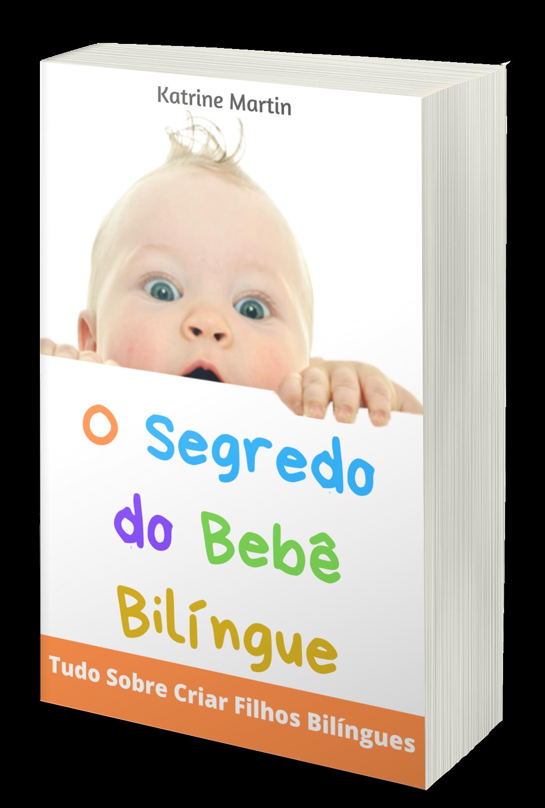Capa Ebook Bebê Bilíngue